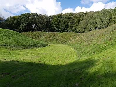 Vroeger stond hier de Vikingburcht van Sjørring © copyright dutchmarco