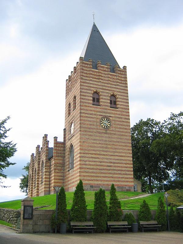Gotische kerk in Hobro © copyright dutchmarco