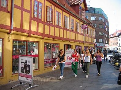 In het centrum van Aalborg © copyright dutchmarco