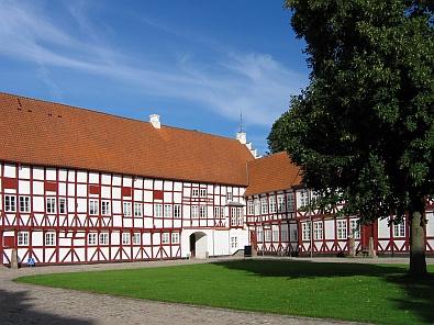 In het centrum van Aalborg, Aalborghus Kasteel © copyright dutchmarco