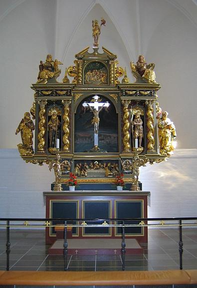 In de Budolfi kathedraal - altaar © copyright dutchmarco