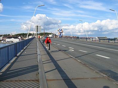 Op de brug over de Limfjord © copyright dutchmarco