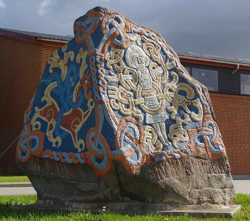 Runensteen in Viborg © copyright dutchmarco