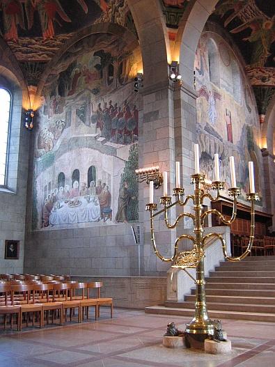 De domkerk van Viborg - prachtige muurschilderingen © copyright dutchmarco