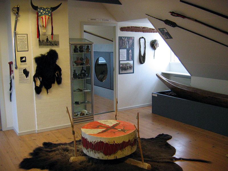 Eén van de ruimten op de bovenverdieping van het Stenalder Centret © copyright dutchmarco