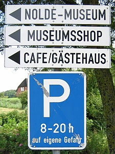 Bij het Nolde Museum © copyright dutchmarco