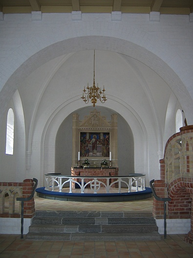 In de kerk in Aars, Denemarken © copyright dutchmarco