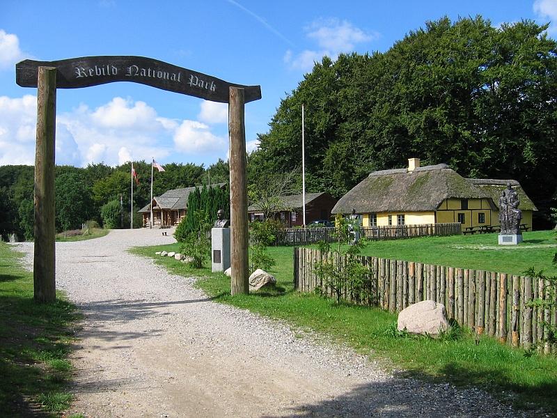 Ingang van het Rebild National Park © copyright dutchmarco