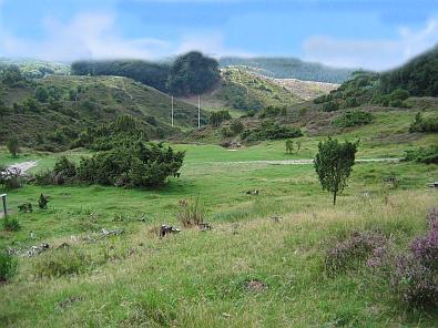 Het landschap van het Rebild National Park © copyright dutchmarco