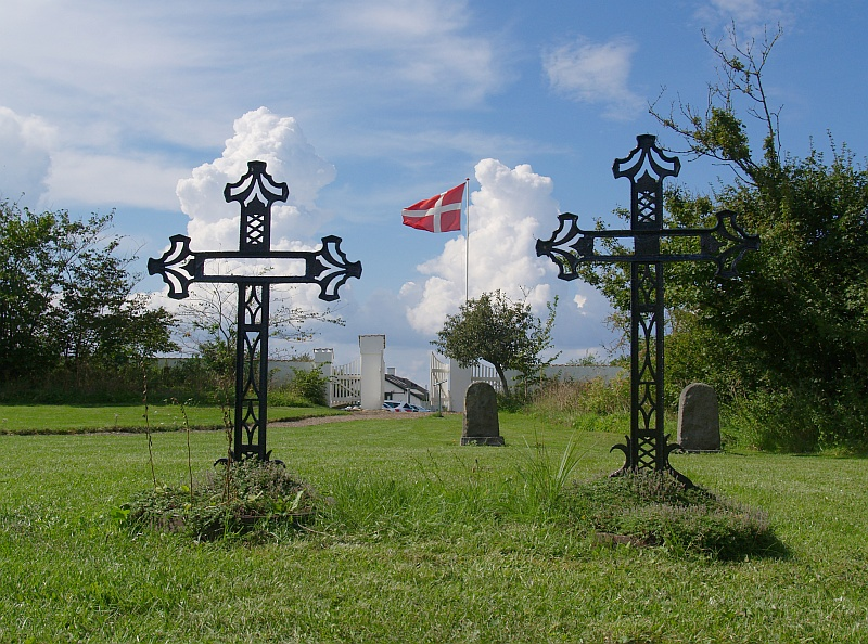 Begraafplaats van het Vitskøl Kloster © copyright dutchmarco