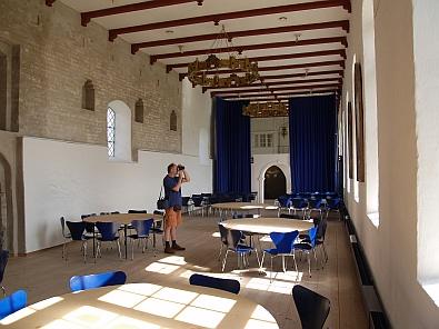 In een zaal van het klooster © copyright dutchmarco