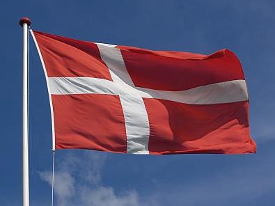 Vlag van Denemarken © copyright dutchmarco