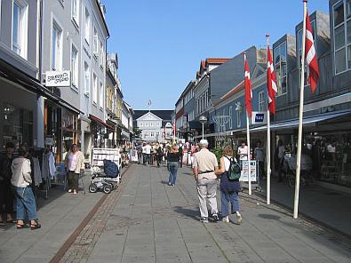 Winkelen in Silkeborg © copyright dutchmarco