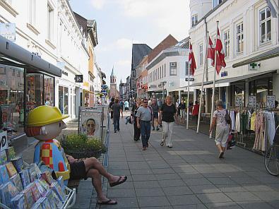 In Silkeborg is het niet druk © copyright dutchmarco