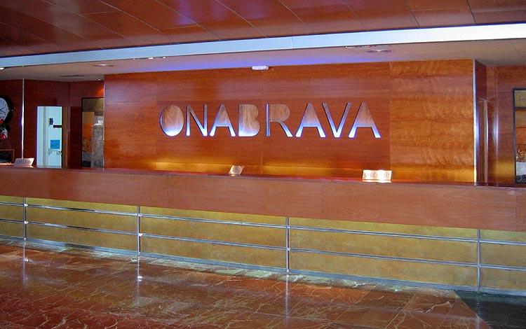 Aqua Hotel Onabrava: receptie © copyright Dutchmarco