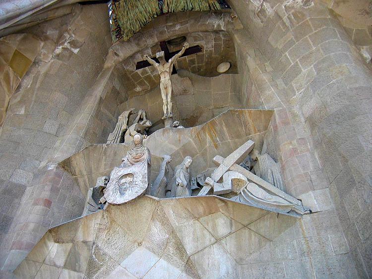 De façade van het lijden van Jezus © copyright Dutchmarco