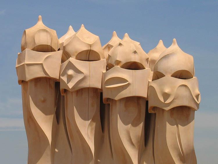 Casa Milà: Middeleeuwse strijders © copyright Dutchmarco
