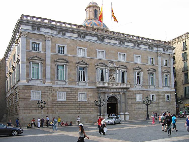Palau de la Generalitat © copyright Dutchmarco