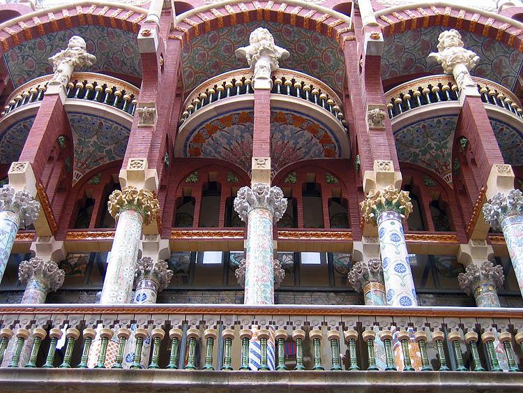 Palau de la Música Catalana © copyright Dutchmarco