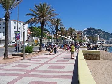 Blanes: boulevard © copyright Dutchmarco