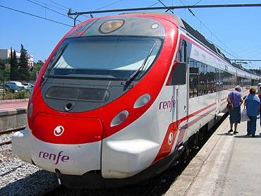 Blanes: trein © copyright Dutchmarco