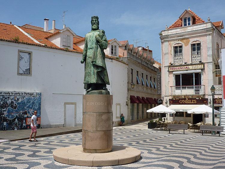 Nogmaals het standbeeld van koning Dom Pedro1 © copyright Dutchmarco