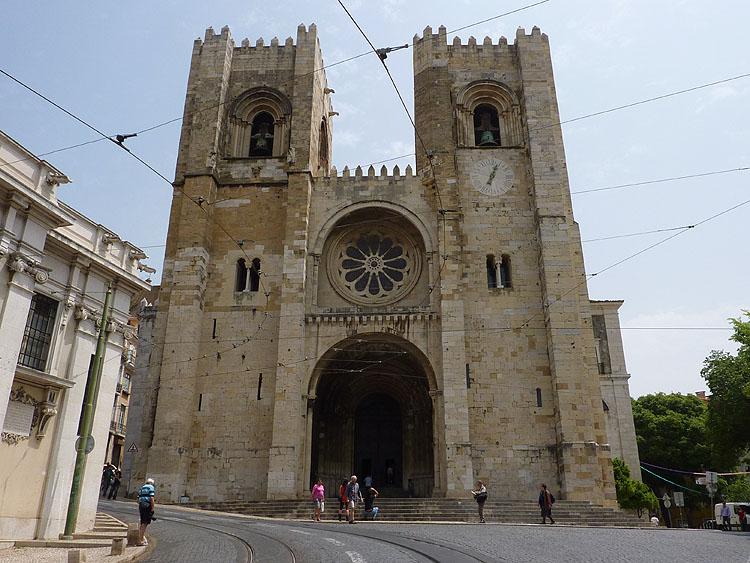 De kathedraal van Lissabon © copyright Dutchmarco