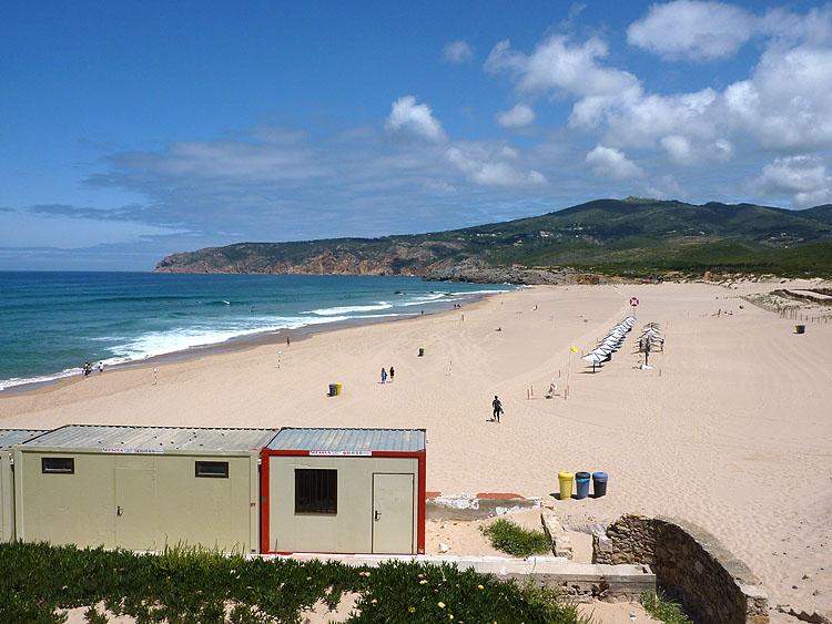 Het strand van Guincho © copyright Dutchmarco
