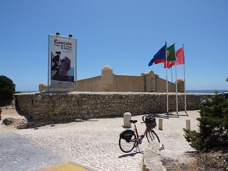 Het fort São Jorge de Oitavos © copyright Dutchmarco