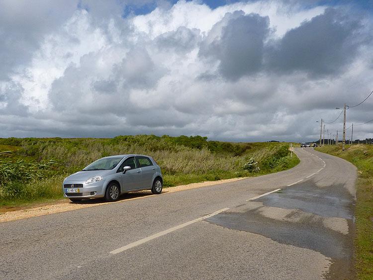 Langs de weg naar de Cabo da Roca © copyright Dutchmarco