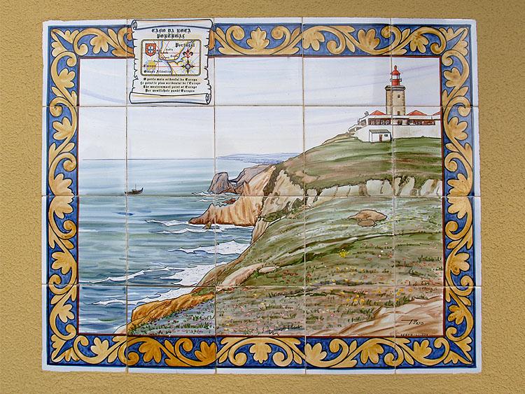 Tegeltableau van de Cabo da Roca © copyright Dutchmarco