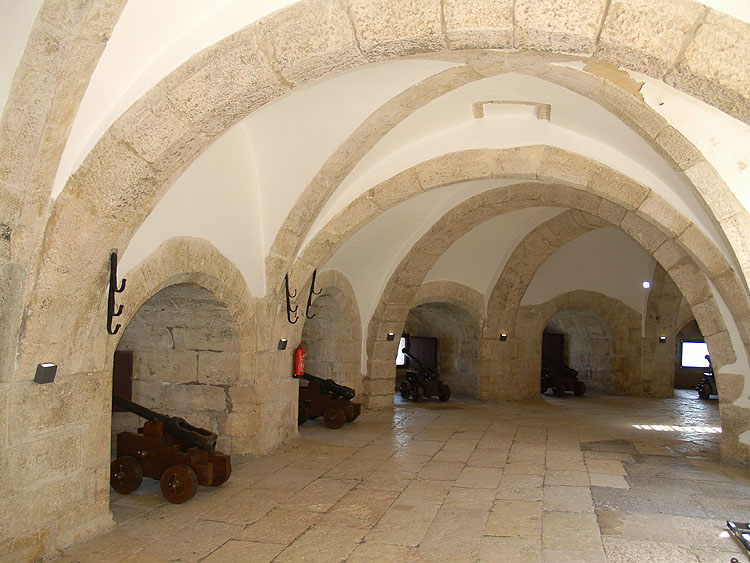 In de kazemat van de Torre de Belém © copyright Dutchmarco