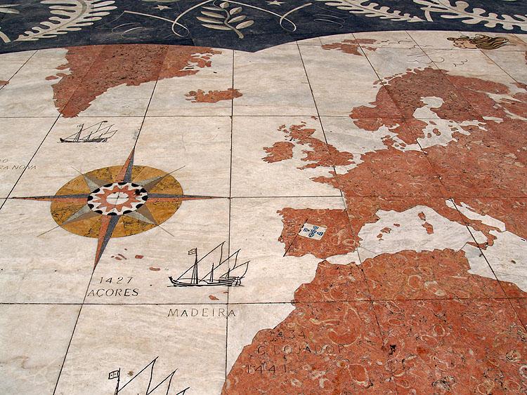 Een detail van het straatmozaïek © copyright Dutchmarco