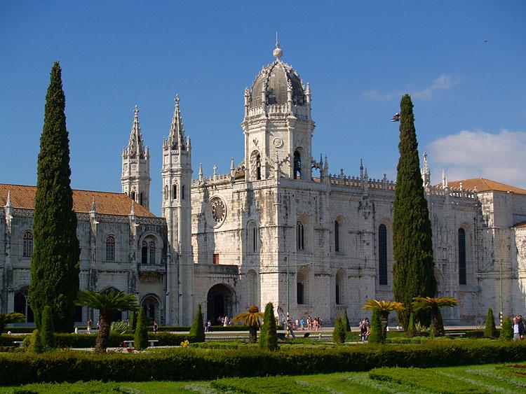 Het Mosteiro dos Jerónimos © copyright Dutchmarco
