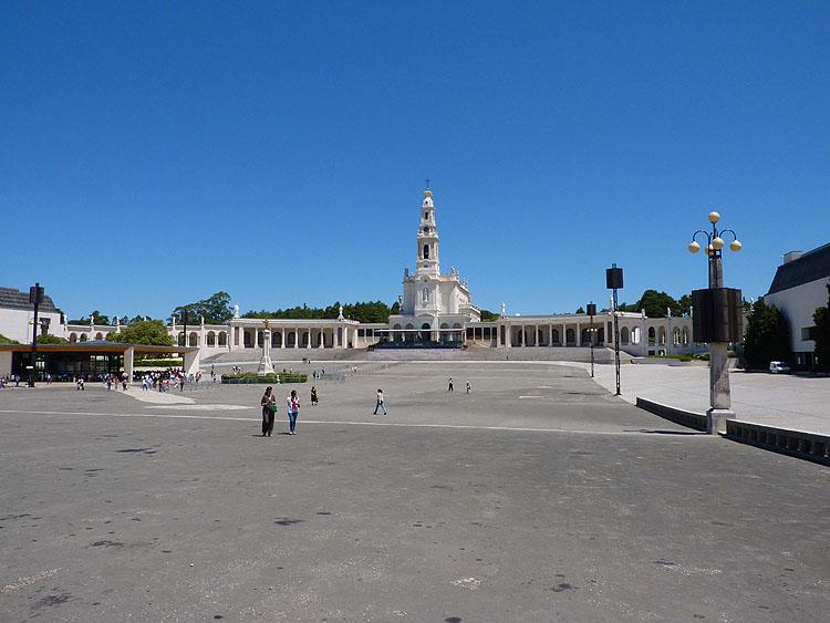 Het Heiligdom van Fátima © copyright Dutchmarco